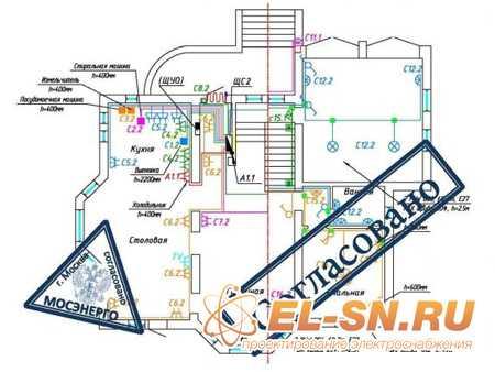 Готовый проект электроснабжения квартиры