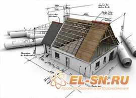 Электропроект дачного дома
