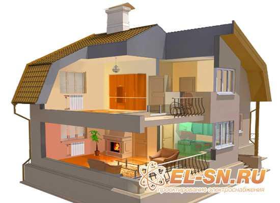 Проектирование электрики дома