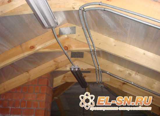 Проект электрики в деревянном доме