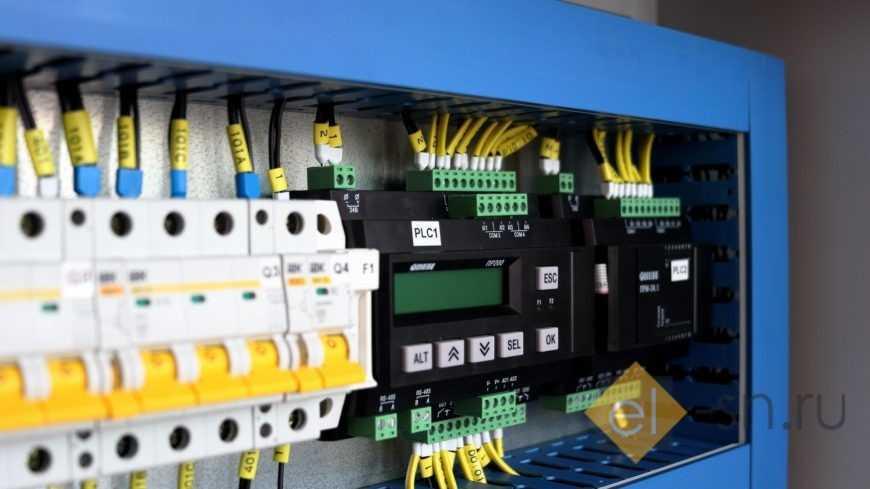 Проект электрических щитов