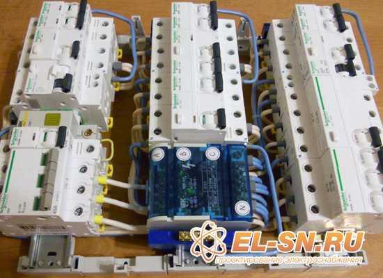 УЗО в электроустановках жилых зданий